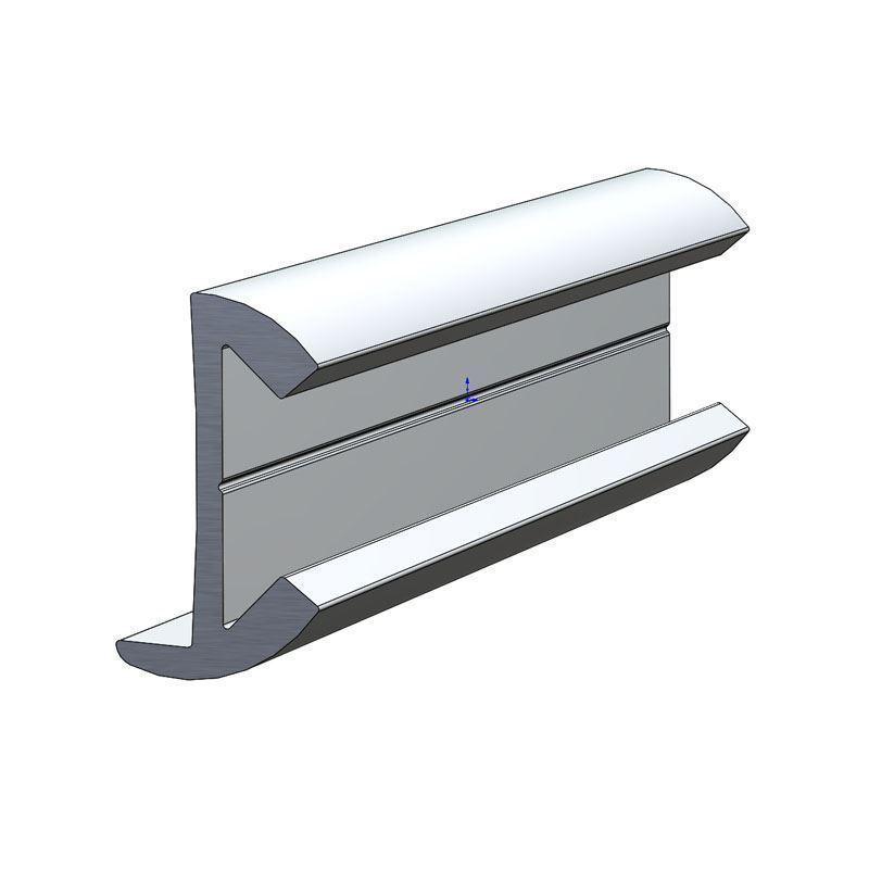 Taco Marine A11 0342 15 16 X 1 2 Aluminum Rub Rail