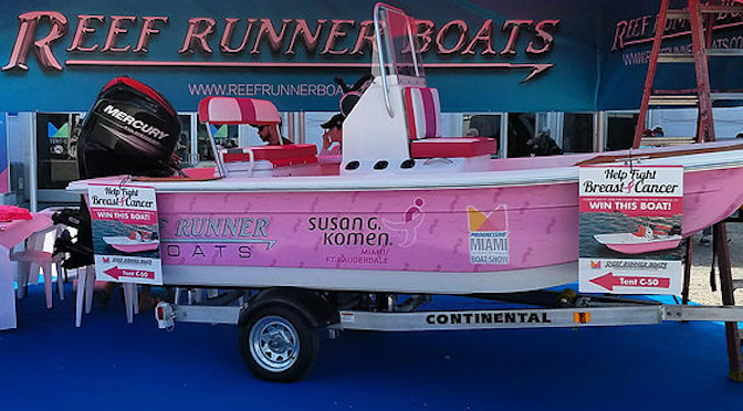 Miami-Based Boat Builder Aims to Raise $20,000 for Breast Cancer Charity