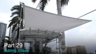 Add Shade to Your Boat: Taco Marine Project Boat on Ship Shape TV Part 29