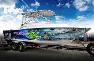 Taco Marine Project Boat Raffle Fundraiser Ticket Info