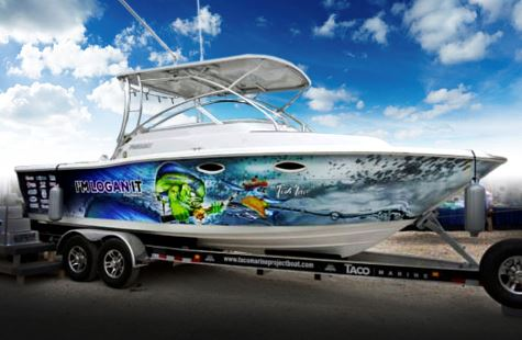 THE TACO MARINE PROJECT BOAT RAFFLE IS LAUNCHED…