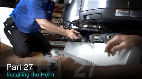 INSTALLING THE HELM: TACO MARINE PROJECT BOAT ON SHIP SHAPE TV – PART 27