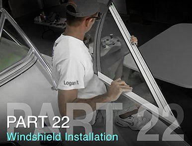 BOAT WINDSHIELD INSTALLATION: TACO MARINE PROJECT BOAT ON SHIP SHAPE TV – PART 22