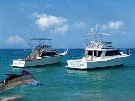 SPORT FISHING TACO MARINE'S OUTRIGGERS HELP SPORTS FISHING