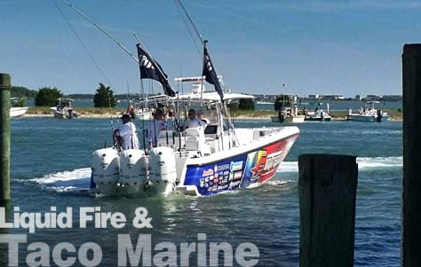 Liquid Fire and Taco Marine Team-up for a Sport Fishing Event
