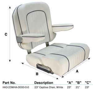 The New Taco Marine Captiva Helm Chair.