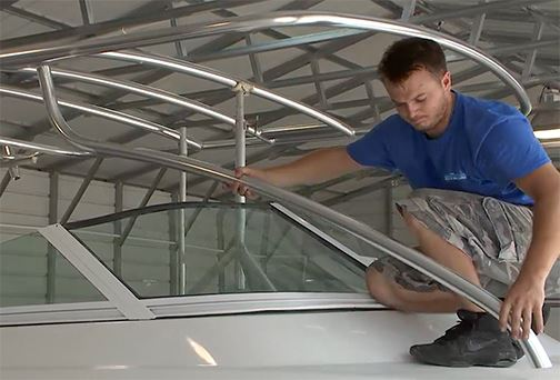 Hard Top of the Taco Marine Project Boat – Check Out Part 14