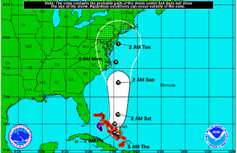 Hurricane Joaquin Update: Heading Towards East Coast.
