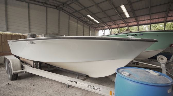 Florida Sportsman Project Dreamboat Episode 8 Shows Major Repairs to 19-foot Cuda Craft
