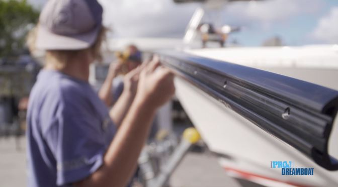 TACO Rub Rail Featured on Florida Sportsman Project Dreamboat Episode 2