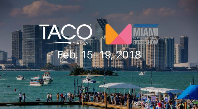 TACO Outriggers Taking Center Stage at Miami Boat Show, Booth C199