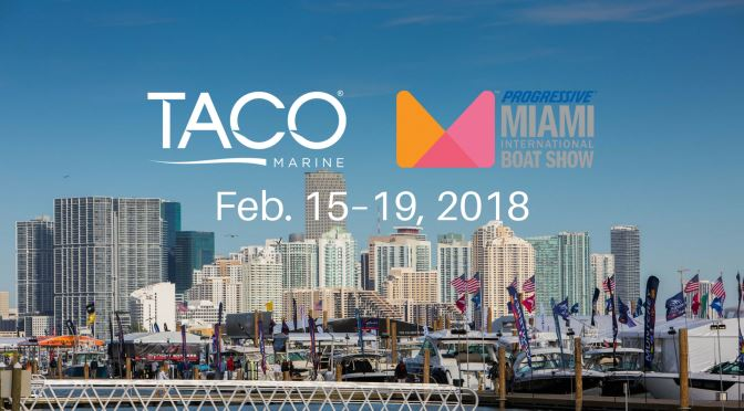 TACO Marine Showcasing Popular LED Lights at Miami Boat Show, Booth C199