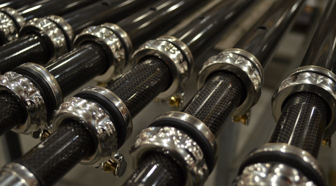 Introducing Our New Carbon Fiber Outrigger Poles for High-Performance Fishing
