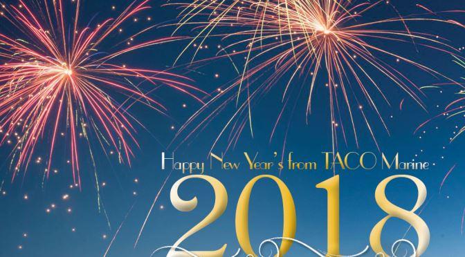 Happy New Year from TACO Marine!