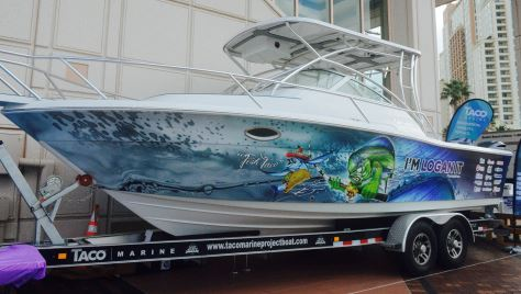 The Winner of the TACO Marine Project Boat is…