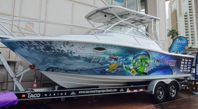 Thank You for Visiting the TACO Marine Project Boat at theTampa Boat Show
