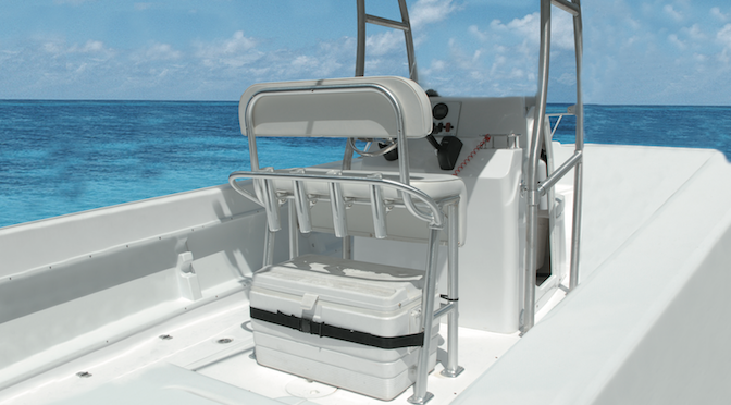 TACO Marine Tuesday Featured Product – The Neptune II Leaning Post
