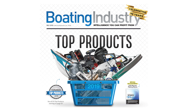 GS-1000 Receives Boating Industry Top Product Award!