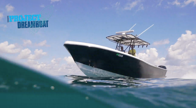 TACO Rub Rail Featured on Florida Sportsman Project Dreamboat