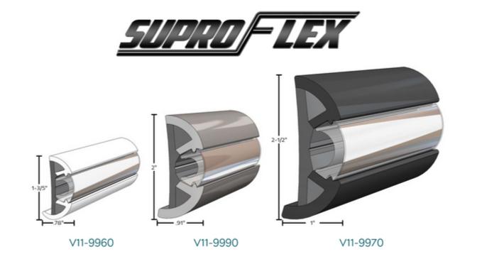 3 SuproFlex Rub Rail Profiles to See at IBEX