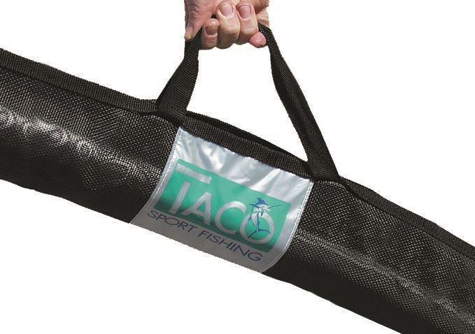 Taco Marine Cok 0024 Black Outrigger Carry Bag Taco Marine