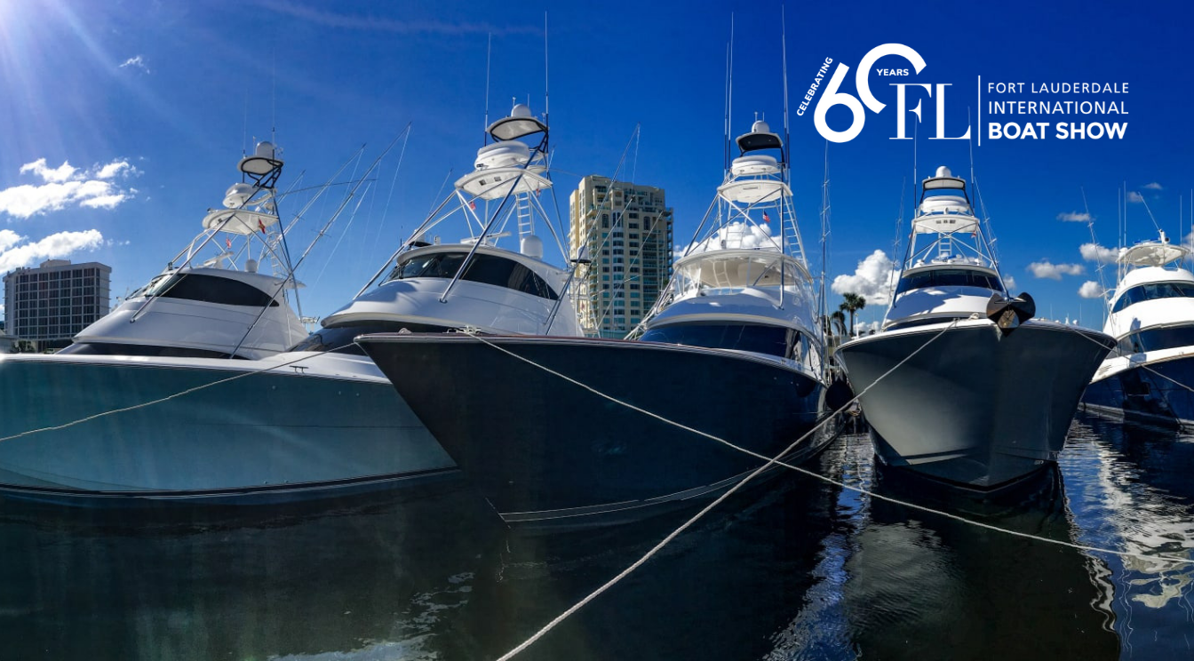 New TACO Products Showcasing at the Fort Lauderdale International Boat Show!