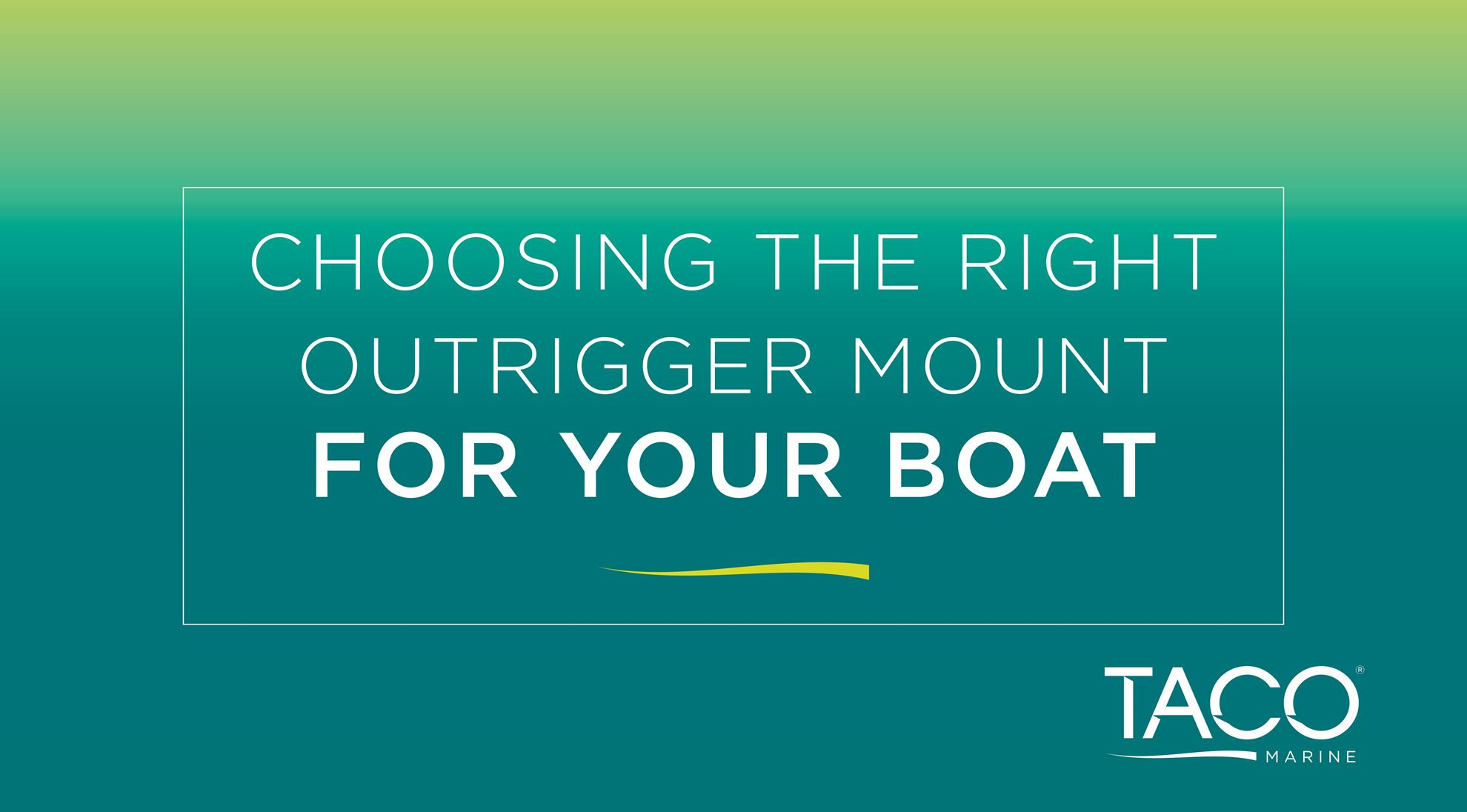 5 Tips to Choose the Right Outrigger Mount for Your Boat