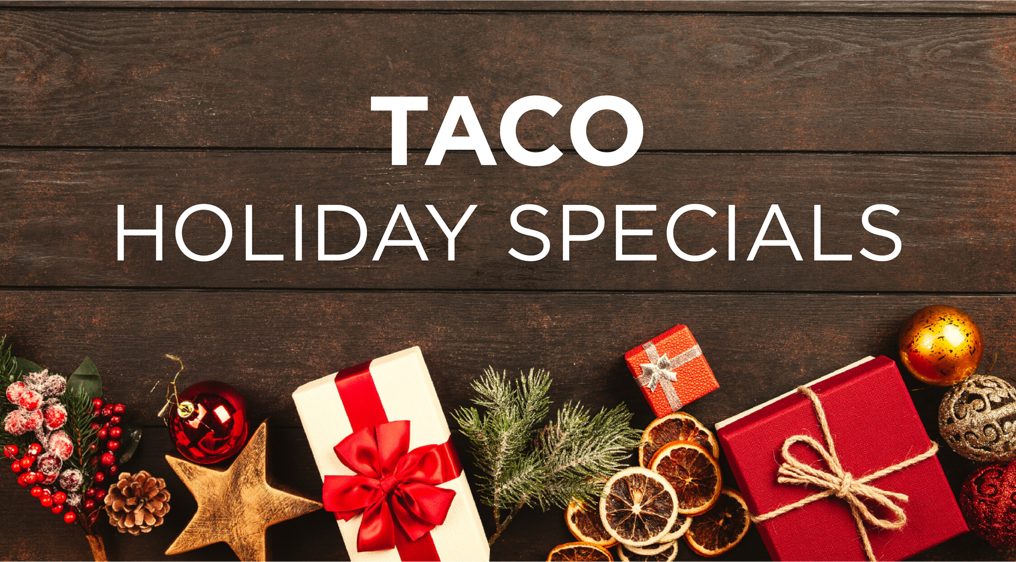 Shop TACO Holiday Specials for Boaters!