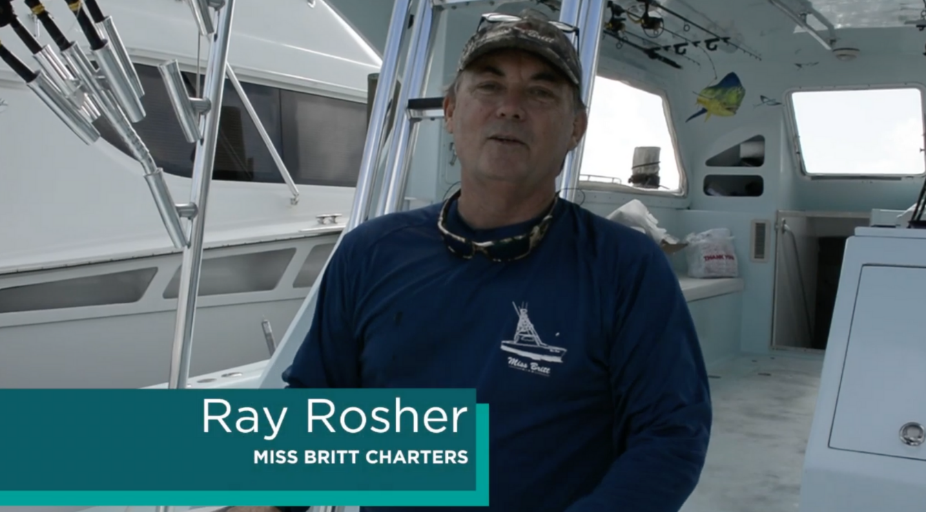 Fishing Tips with Captain Ray Rosher