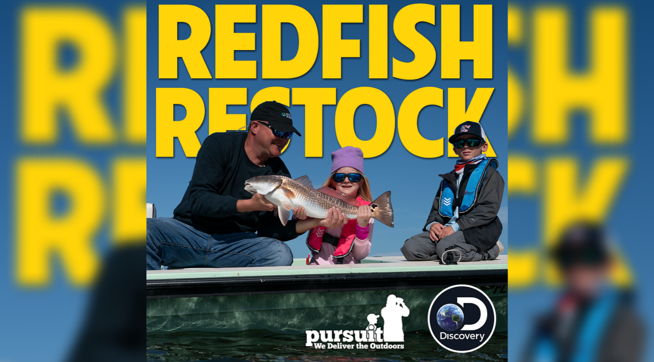 Sportsman's Adventures – Episode 6 – Redfish Restock
