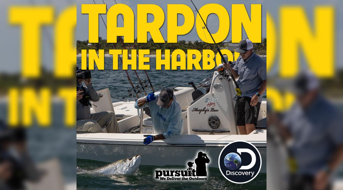 Sportsman's Adventures – Episode 11 – Tarpon in the Harbor