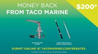 Money Back on TACO Sport Fishing Products