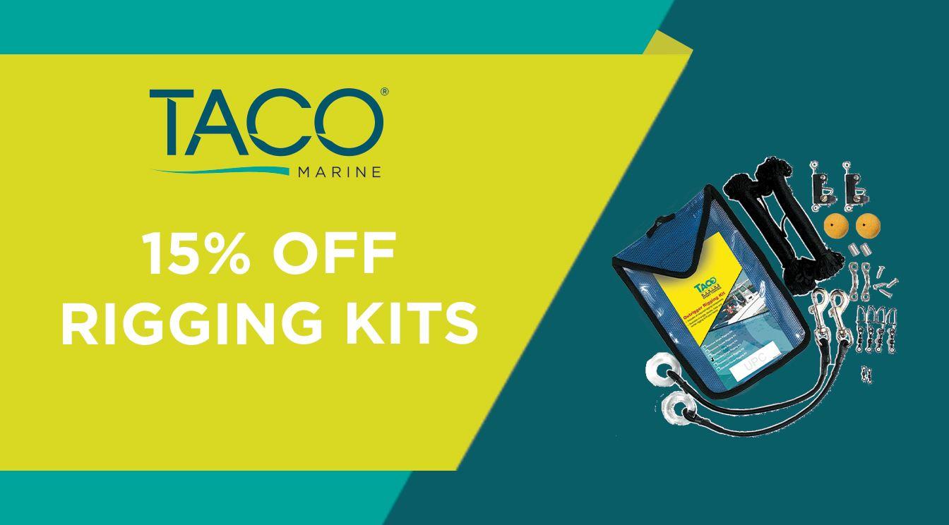 Take 15% OFF TACO Rigging Kits!