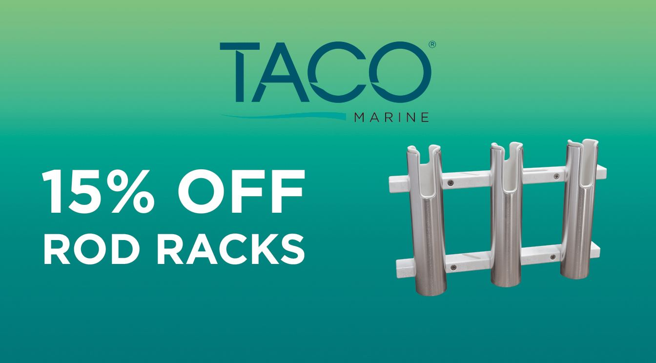 Take 15% Off TACO Rod Racks