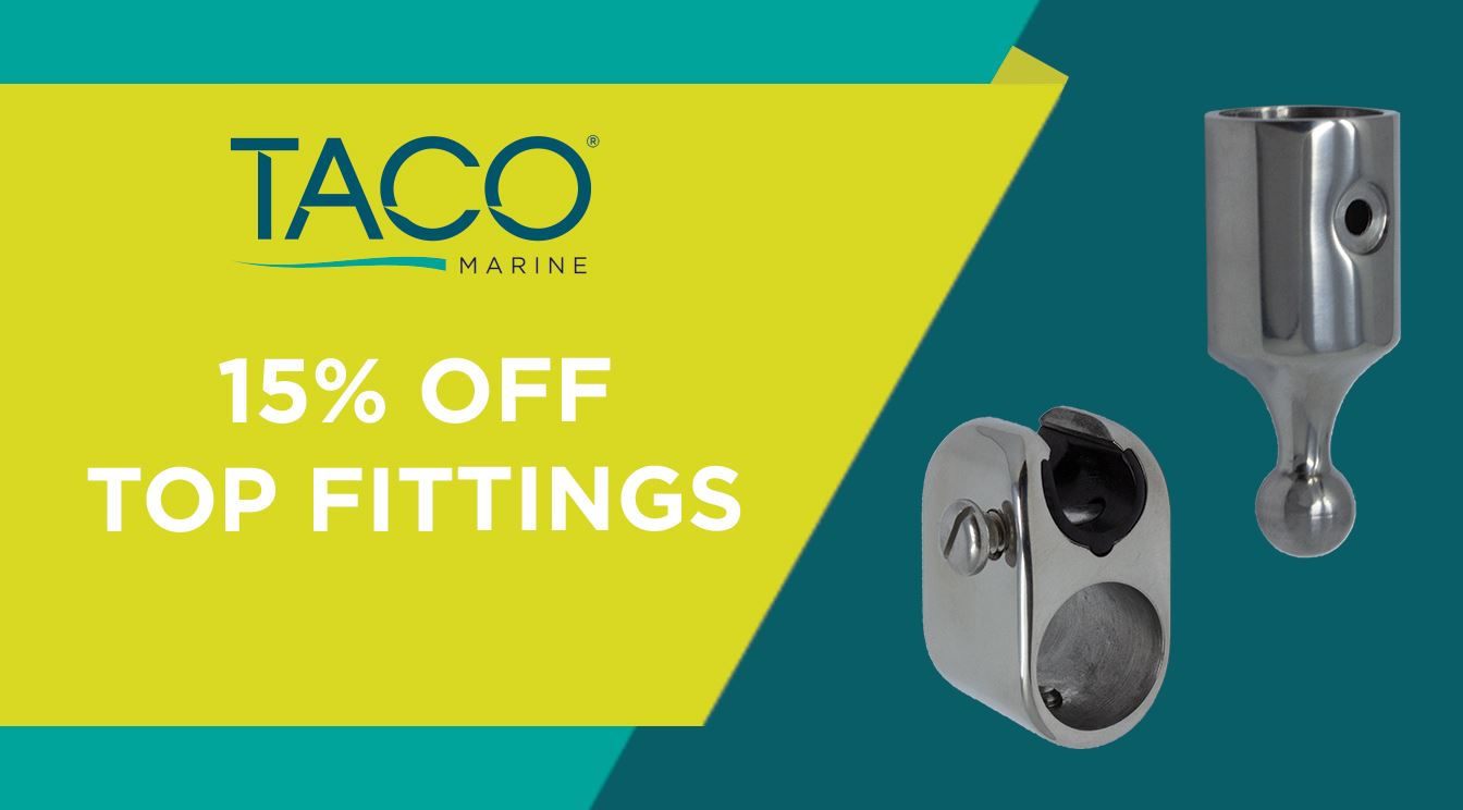 Take 15% OFF TACO Top Fittings