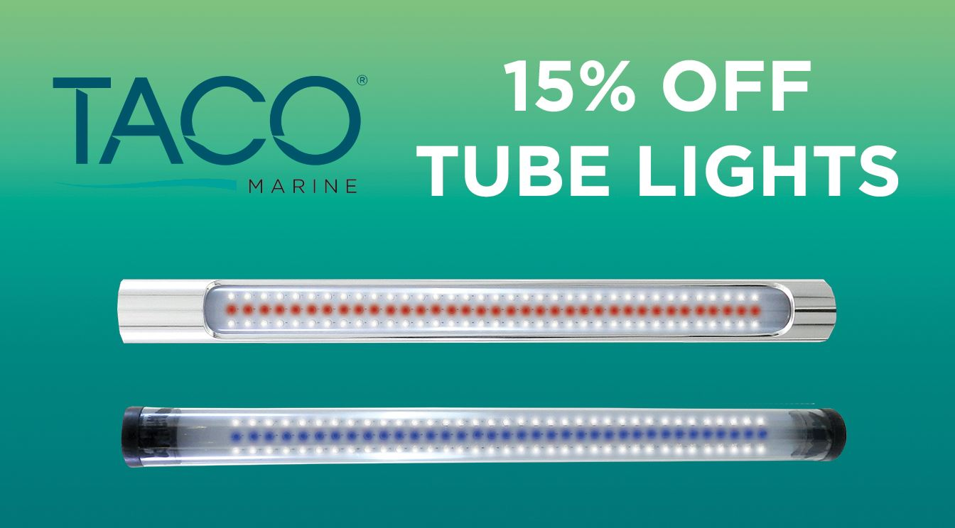 15% OFF T-top Tube Lights for a Limited Time!