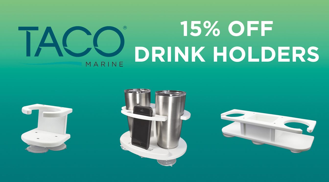 Save 15% on TACO Drink Holders!