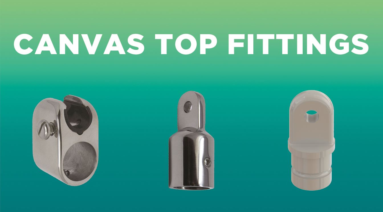 Learn More About TACO Marine's Canvas Top Fittings!