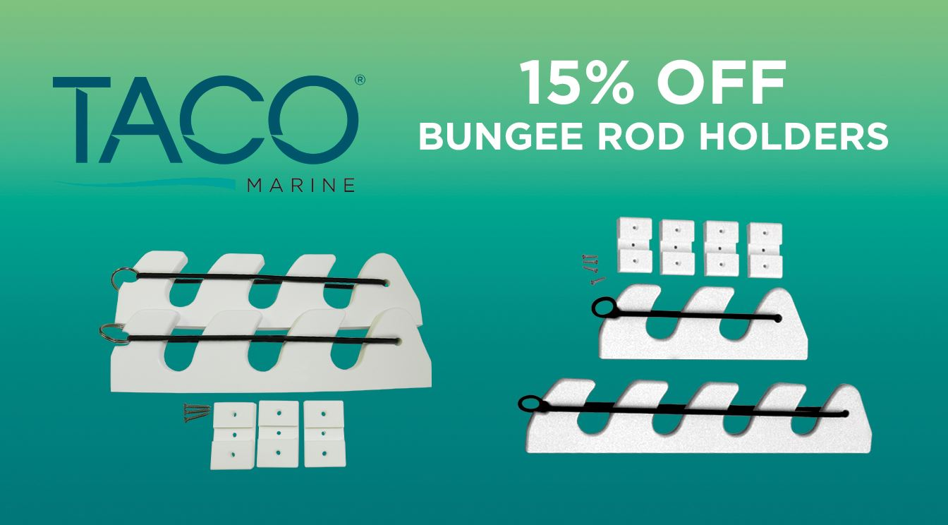 Take 15% OFF Bungee Rod Holders