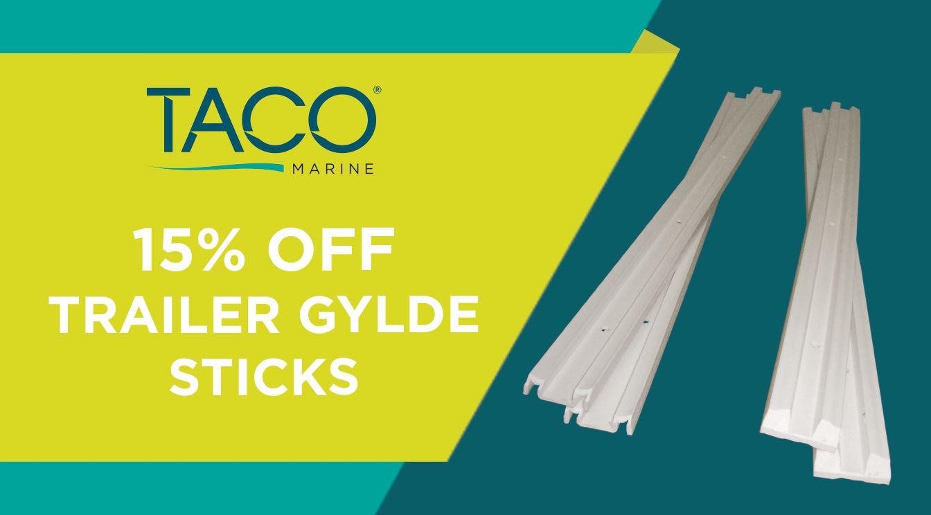 Take 15% OFF Trailer Glyde Slicks