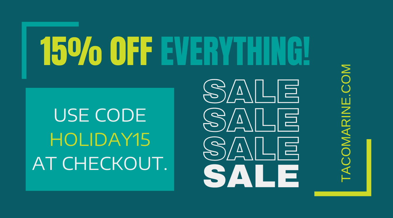 15% Off EVERYTHING on Buy TACO Direct