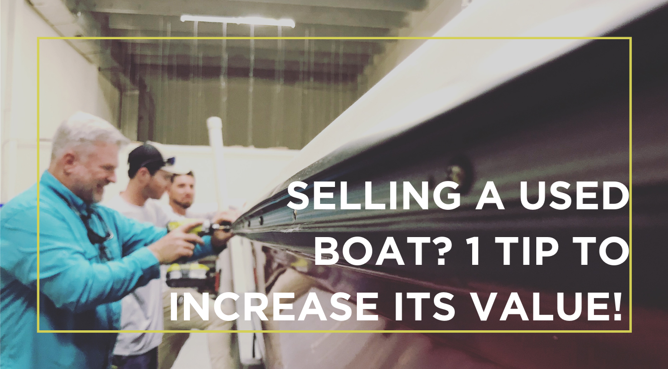 How To Increase the Value of a Used Boat