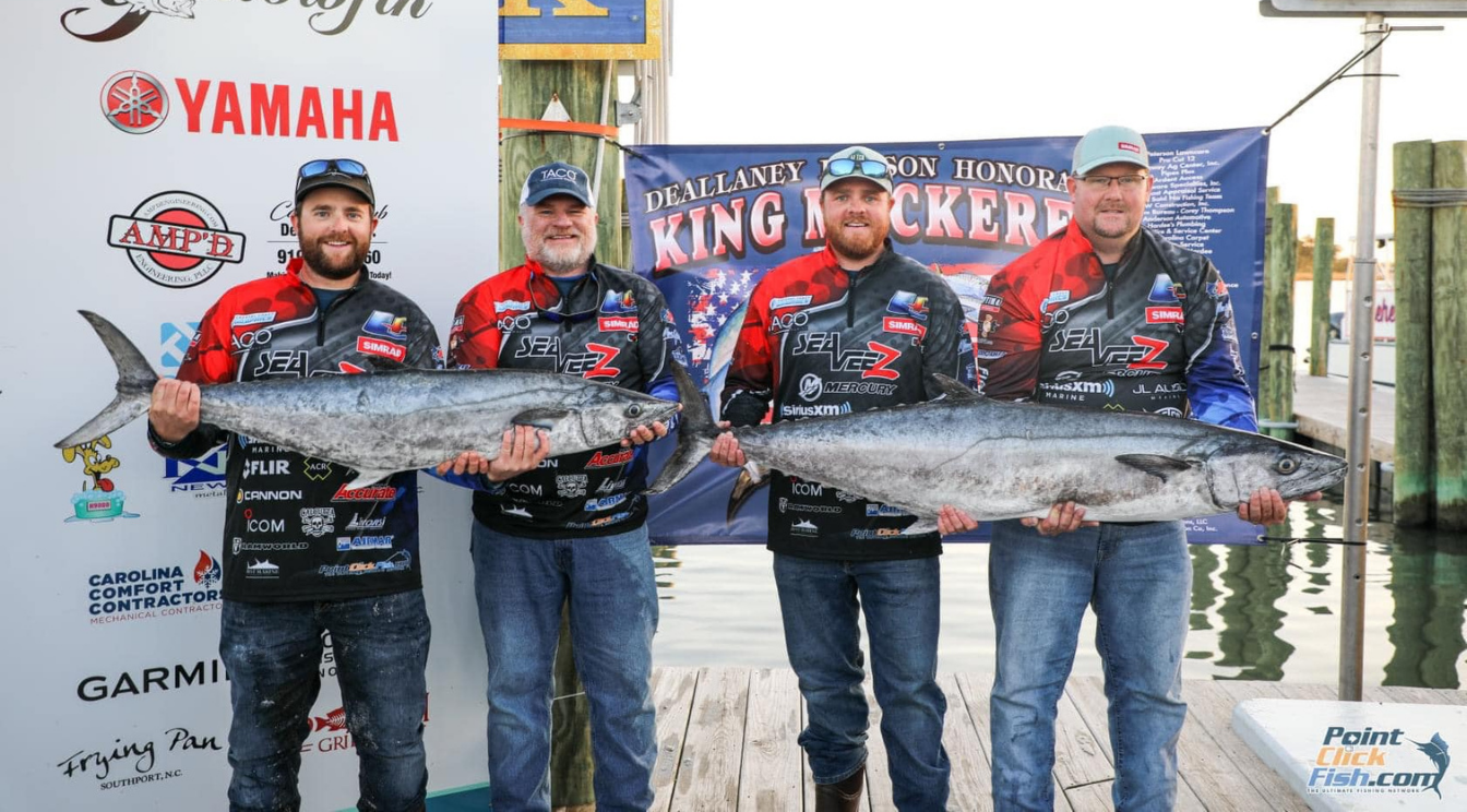 Liquid Fire Fishing Team Results from Cape Lookout Shootout