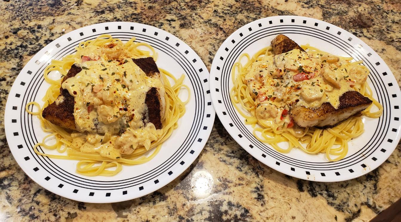 Eat Like the Pros: Liquid Fire's Blackened Cajun Seafood Pasta Recipe