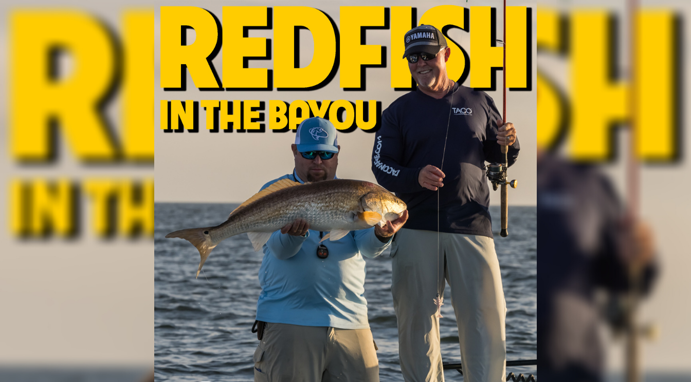 Sportsman's Adventures 2021 Episode 10 – Redfish in the Bayou