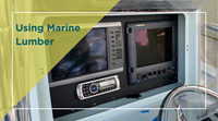 Upgrading a Boat Console Using TACO Marine KingStarboard® Marine Lumber