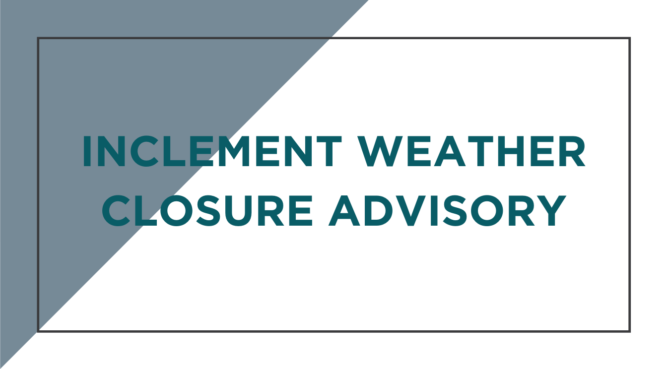 Inclement Weather Closure: Sparta Tenn. Main Manufacturing & Central Distribution