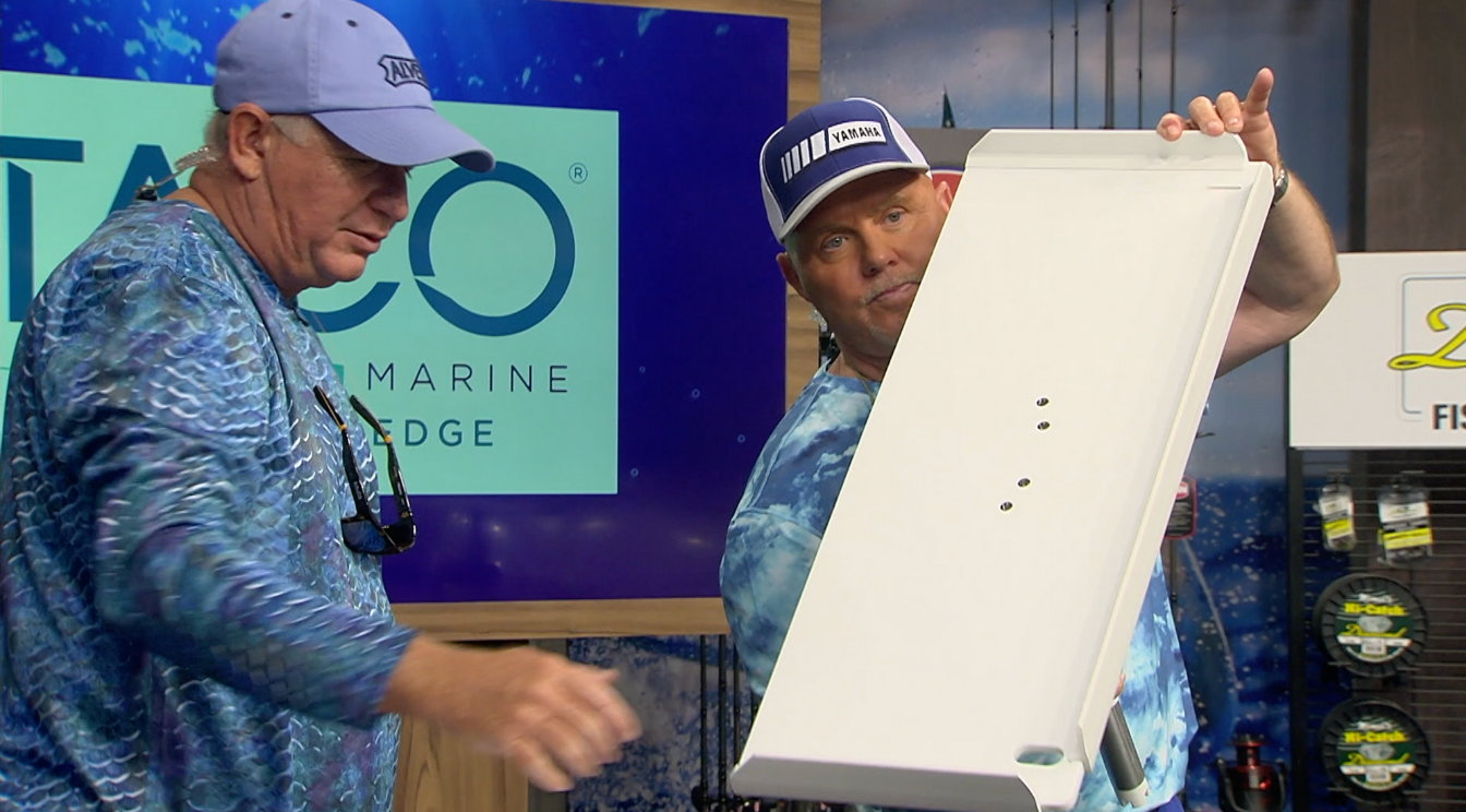 TACO Marine Gunnel Mount Filet Table Featured on FIFR