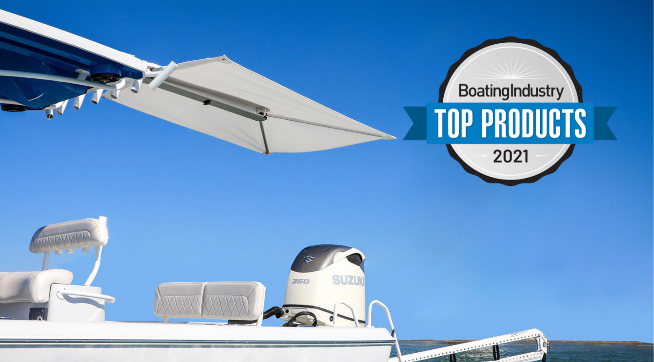 ShadeFin™ Receives Boating Industry Top Product Award!