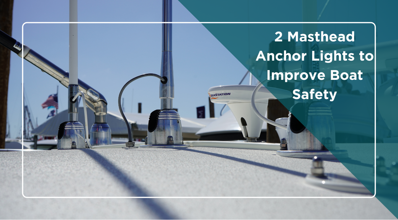2 Masthead Anchor Lights for Boats